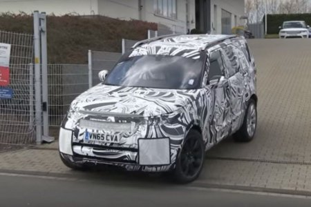 Новый Land Rover Discovery 2017 года попал в объективы фотошпионов